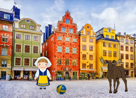 Get away from it all for the month of Sweden on Dogzer!